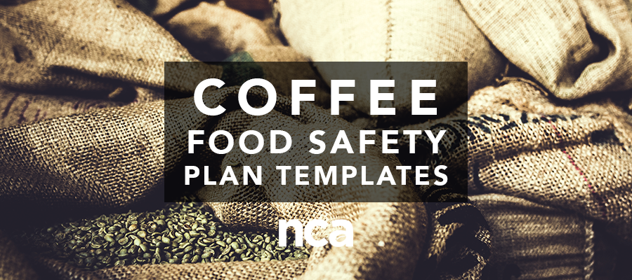 Coffee Food Safety Templates