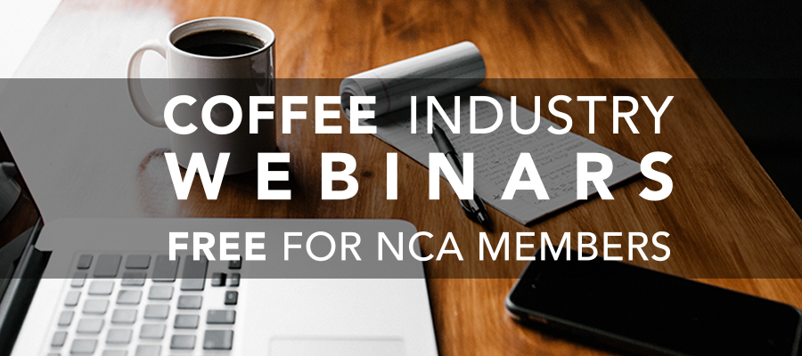 NCA Coffee Industry Webinars