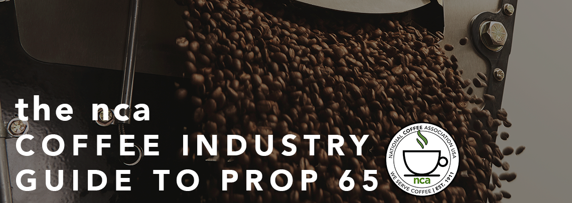 Prop 65 and Coffee