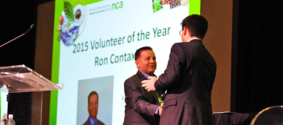 Volunteer of the Year at the NCA 2015 Annual Convention