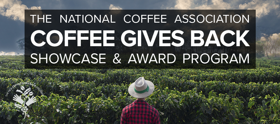 NCA Coffee Gives Back Showcase Award