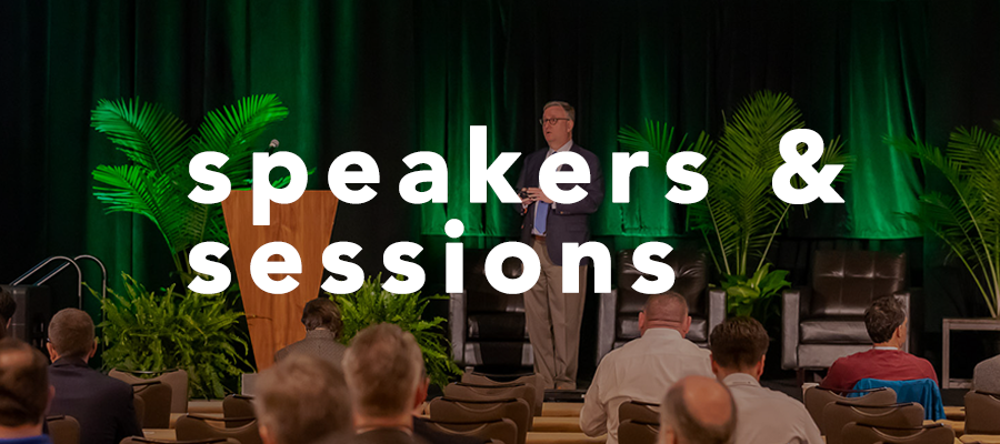 Speakers & Sessions