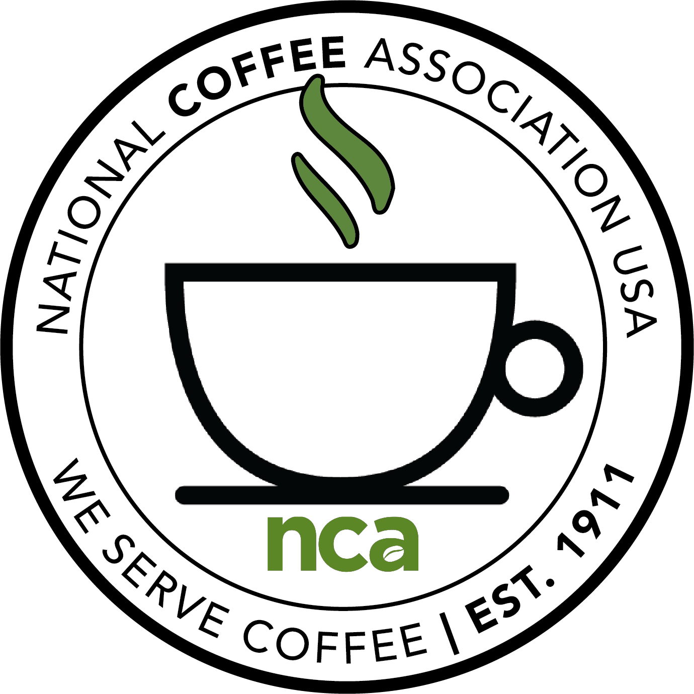 NCA We Serve Coffee
