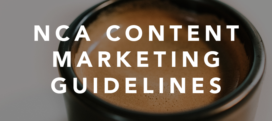 NCA Member Content Marketing